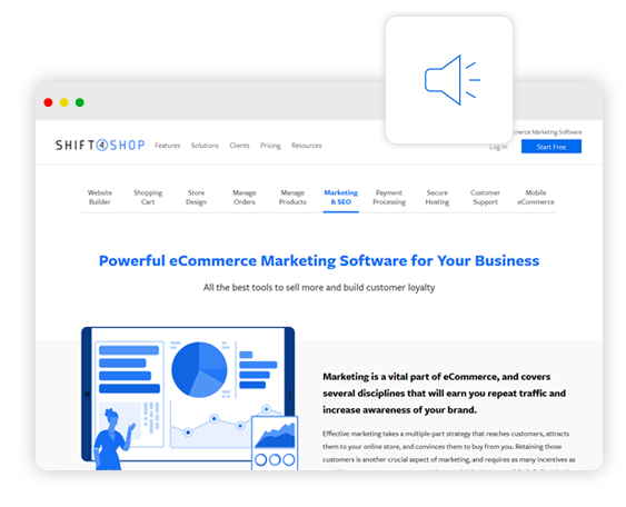Reach Customers with a Full Suite of Versatile Marketing Tools
